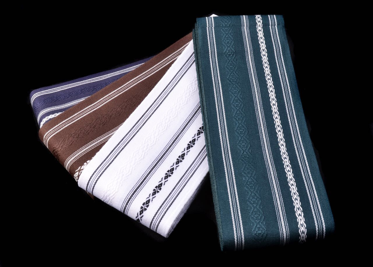 棉制 居合腰带 日本产