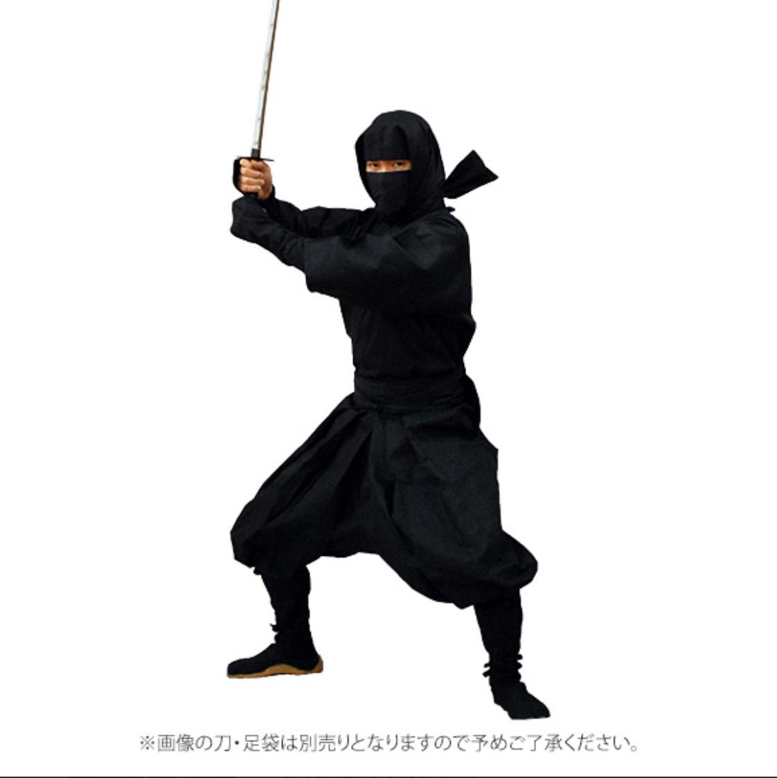 伊贺忍者服-平头式(7件套)-不含地下足袋